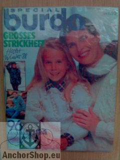 - : Special Burda Grosses Strickheft Herbst/Winter 1988