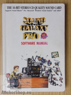 - : Sound Galaxy Software Manual, version 4.3